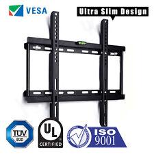 """SLIM TV WALL BRACKET MOUNT FOR PLASMA LED LCD 3D 26 32 34 37 40 42 46 48 50 55"""""""