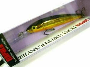 "4/"" 3//8 oz Fishing Lure Gold Rapala Down Deep Husky Jerk"