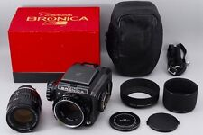 EXC+++ in BOX SET Bronica S2 Medium Format w/ NIKKOR-P 75mm + 150mm #317