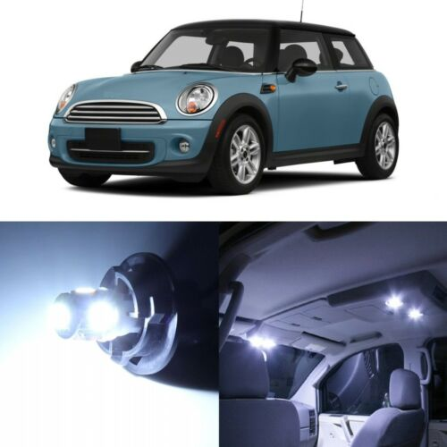 TOOL 13 x White LED Lights Interior For Mini Cooper S R56 Hardtop 2006-2014
