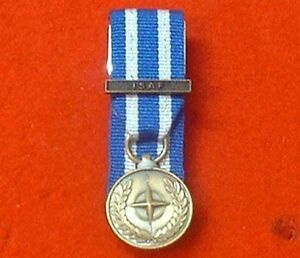 Court-Mounted-NATO-ISAF-Afghanistan-Miniature-Medals