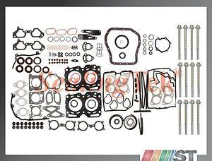 Details about Fit 02-05 Subaru Impreza WRX Turbo EJ205 USDM Engine Full  Gasket Set + Head Bolt