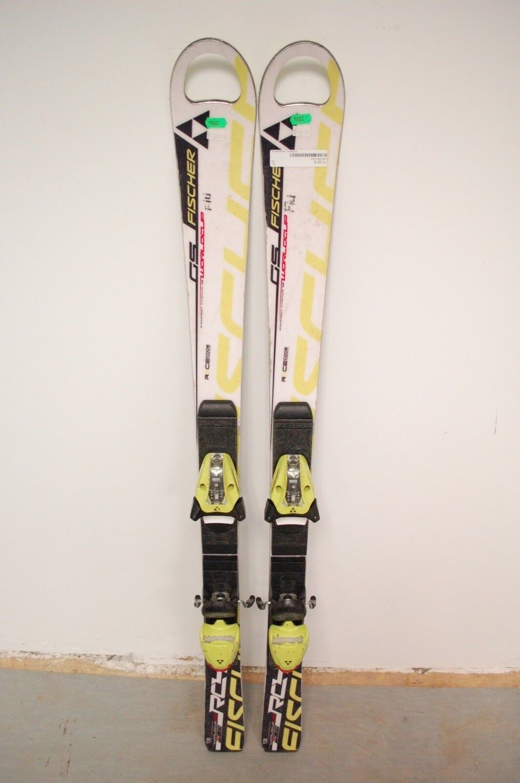 Fischer RC4 World Cup GS 130 cm Ski + Fischer FJ 7.5 Bindings