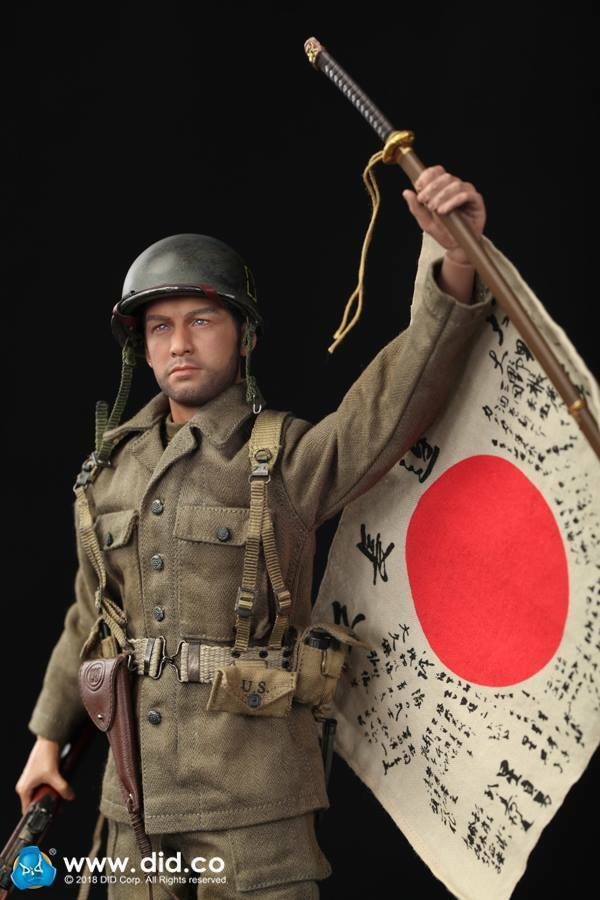 DID 'Captain Sam': WWII US Army 77th Infantry Division 1:6 scale DID-A80129