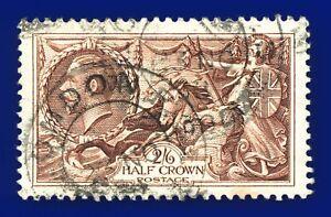 1934-SG450-2s6d-Chocolate-Brown-N73-1-Good-Used-London-23-NO-38-CV-FU-40-aqqs