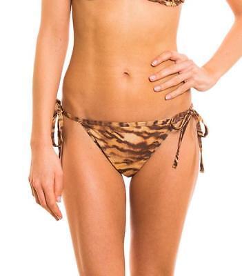 Kiniki Boa Tan Through Sonnendurchlässiger Seitlich Zu Bindender Bikini Tanga