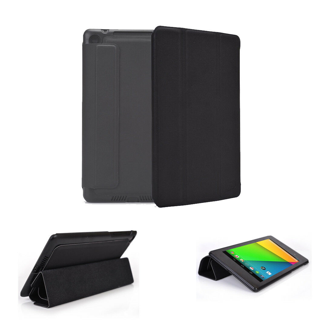 Moko Google Nexus 7 Fhd 2nd Gen Case Genuine Leather Slim Fit For Sale Online Ebay
