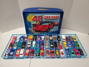 Hot-Wheels-Vintage-Lot-of-48-With-Case-1970-039-s-1980-039-s-1990-039-s-With-1-Redline