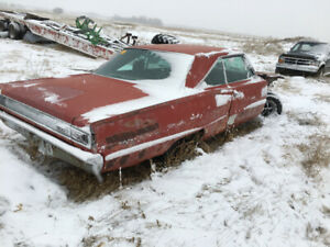 1967 Dodge Coronet 500, rolling chassis, no engine or trans