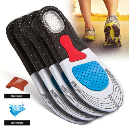 Men and Women/'s Fashion Silica Gel Insoles Orthotic Sport Running Shoes Insoles
