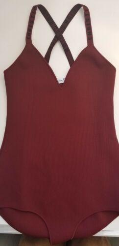 Dior Maroon Bodysuit