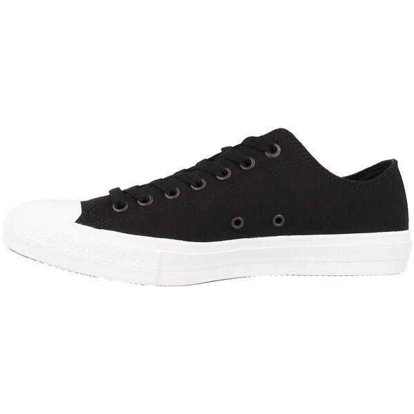 Converse Chuck Taylor Taylor Taylor All Star II Ox zapatos negro 150149c cortos Chuck 33c7d6