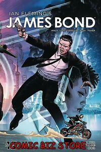 JAMES-BOND-3-2020-1ST-PRINTING-CHEUNG-MAIN-COVER-BAGGED-amp-BOARDED-DYNAMITE