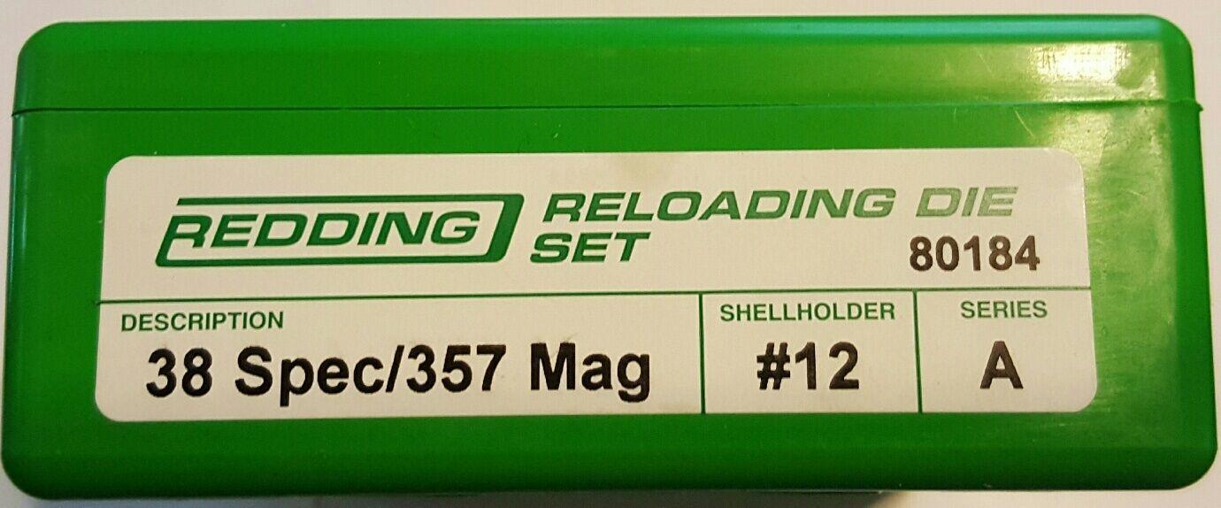 80184 rojoDING 38 especial 357 Magnum 3-DIE Set-Totalmente Nuevo-Envío Gratis