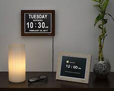 Big Digital Clock Dementia Calendar Wall Memory Alzheimer Alarm Desk Large Day