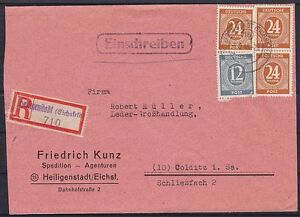Alliierte-Besetzung-Mi-Nr-925-3-920-MiF-auf-R-Brief-Heiligenstadt-Colditz