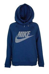 Nike Women's Sportswear Rally Funnel Neck Graphic Hoodie 807292 423
