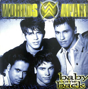 Worlds-Apart-CD-Single-Baby-Come-Back-Europe-VG-VG