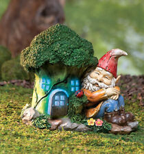 Lighted Gnome House Outdoor Light Garden Yard Porch Decoration Battery Opreated