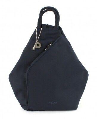Reisen Diskret Picard Tiptop Backpack Shoulderbag Rucksack Freizeitrucksack Blau