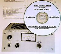 Hp 6384a Dc Power Supply Operating & Service Manual