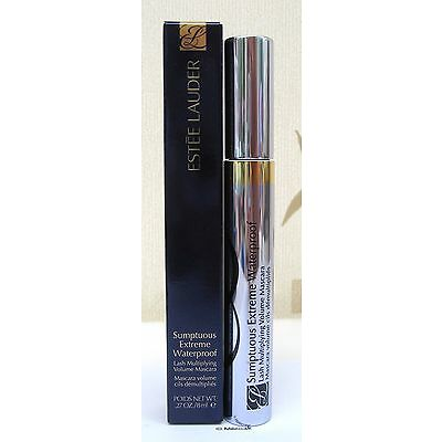 Estee Lauder Sumptuous Extreme Waterproof Mascara 8ml - Extreme Black New, Boxed
