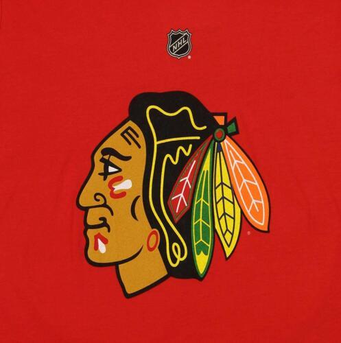 Reebok NHL Youth Chicago Blackhawks Patrick Kane #88 Long Sleeve Player Tee Red