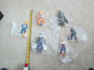 6-pcs-Dragon-Ball-Z-Figures-Set-Goku-Gohan-Vegeta-amp-More-5-034-7-034-Extra-Parts