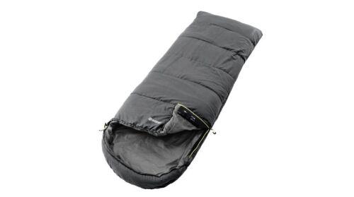 Outwell Schlafsack Deckenschlafsack Campion mit Isofill grau 215x80cm Kopfteil I