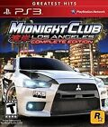 Midnight Club: Los Angeles -- Complete Edition (Greatest Hits) (Sony PlayStation 3, 2009)