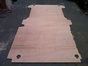 Vw transporter t5 12mm flooring plylining ply lining kit for Van ply lining templates