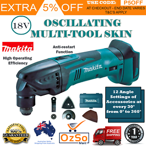 Details about New MAKITA CORDLESS CUTTING MULTI TOOL Sanding Polishing  Oscillating DTM50ZX5
