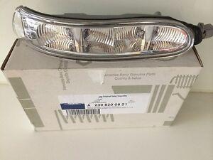 Original-Mercedes-Benz-Blinker-Spiegel-rechts-CLK-209-SL-R230-Spiegelblinker-NEU