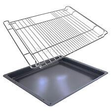 Genuine BOSCH Oven Cooker Grill Pan Enamel Tray Base + Shelf Grid Mesh Insert
