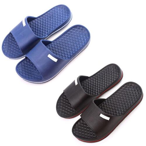 Men/'s Slip On Sport Slide Sandals Flip Flop Shower Shoes Slippers Gym House Pool
