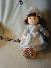 """SCHOLASTIC THE REAL MOTHER GOOSE 1998 SIDE KICKS DOLL RARE PLUSH STUFFED TOY 12"""""""