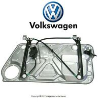 Vw Beetle 1998-2010 Front Driver Left Window Regulator Genuine 1c0837655c