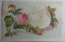 1800'S VICTORIAN TRADE CARD M E NICHOLS MAIN ST CHARLESTOWN MASS GENERAL STORE