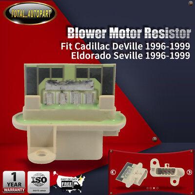 A//C Heater Blower Motor Resistor for Cadillac DeVille Eldorado Seville 1996-1999