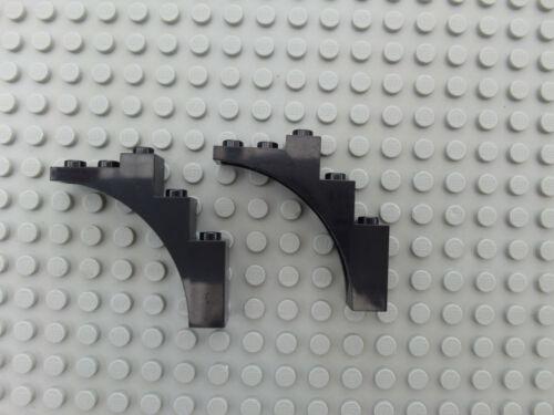 LEGO 2339 Halbbogen Bogenstein Brückenstein 1x5x4 Schwarz