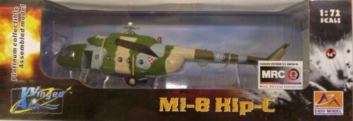 Easy Model MRC 1//72 Mi-8 Hip-C Hungarian AF Built Up Helicopter 37041