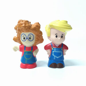 Fisher-Price-Little-People-Sofie-and-Eddie-Action-Figure-Toy-Gift