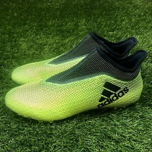 bce759a8775 New Adidas X Tango 17+ Purespeed TF Turf Size 12 Soccer Shoes Green ...