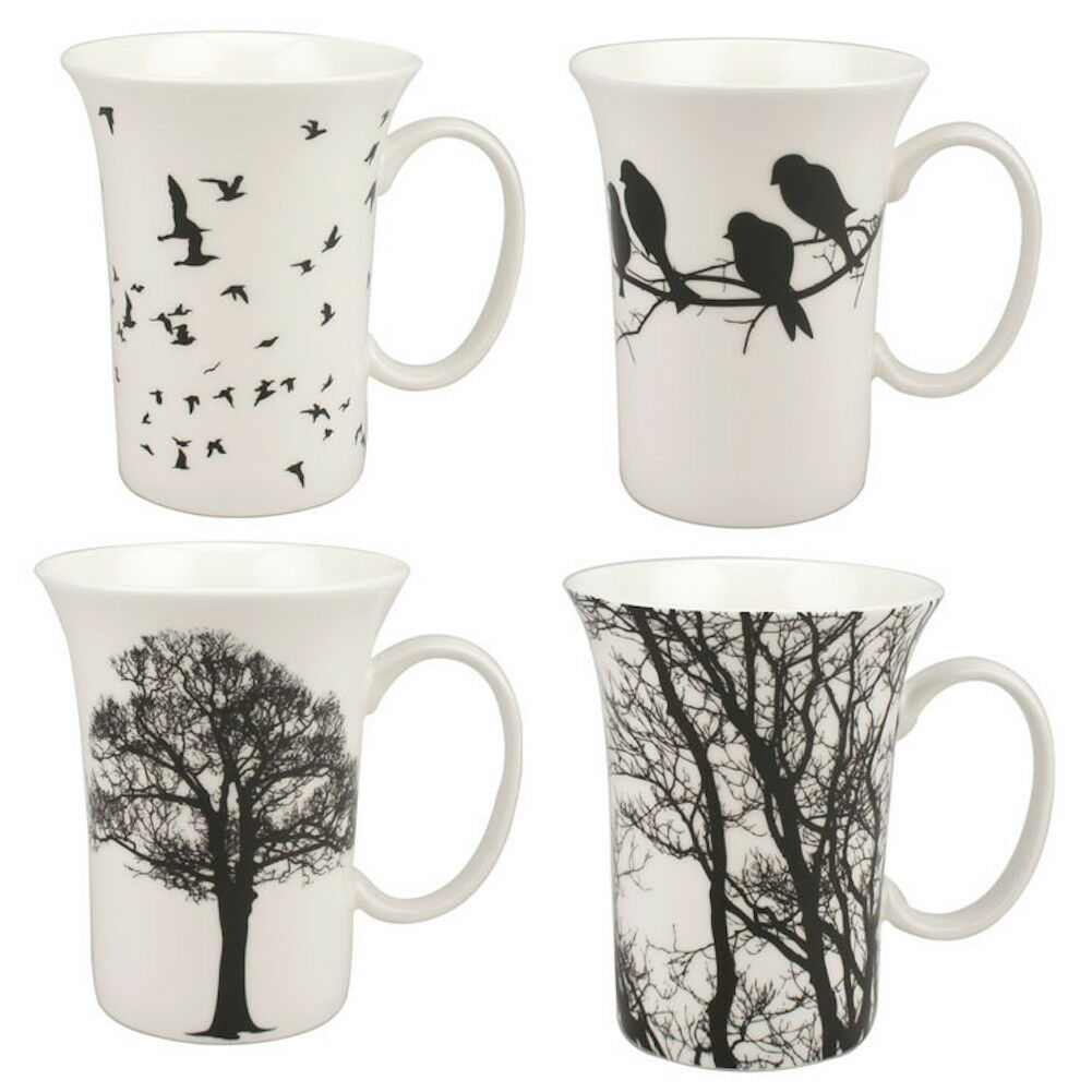 McIntosh Trading - Set of 4 Mugs - Eternal Silhouette