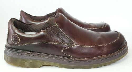Dr Martens Brown leather loafers mens size 12M Doc