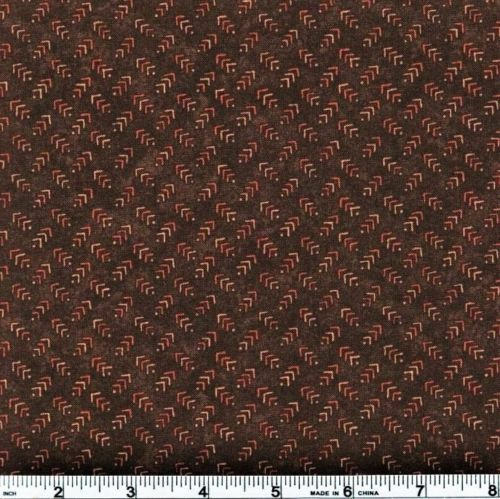 Autumn Reflections Fabric Holly Taylor 6715 18 Mocha Arrows Premium Cotton