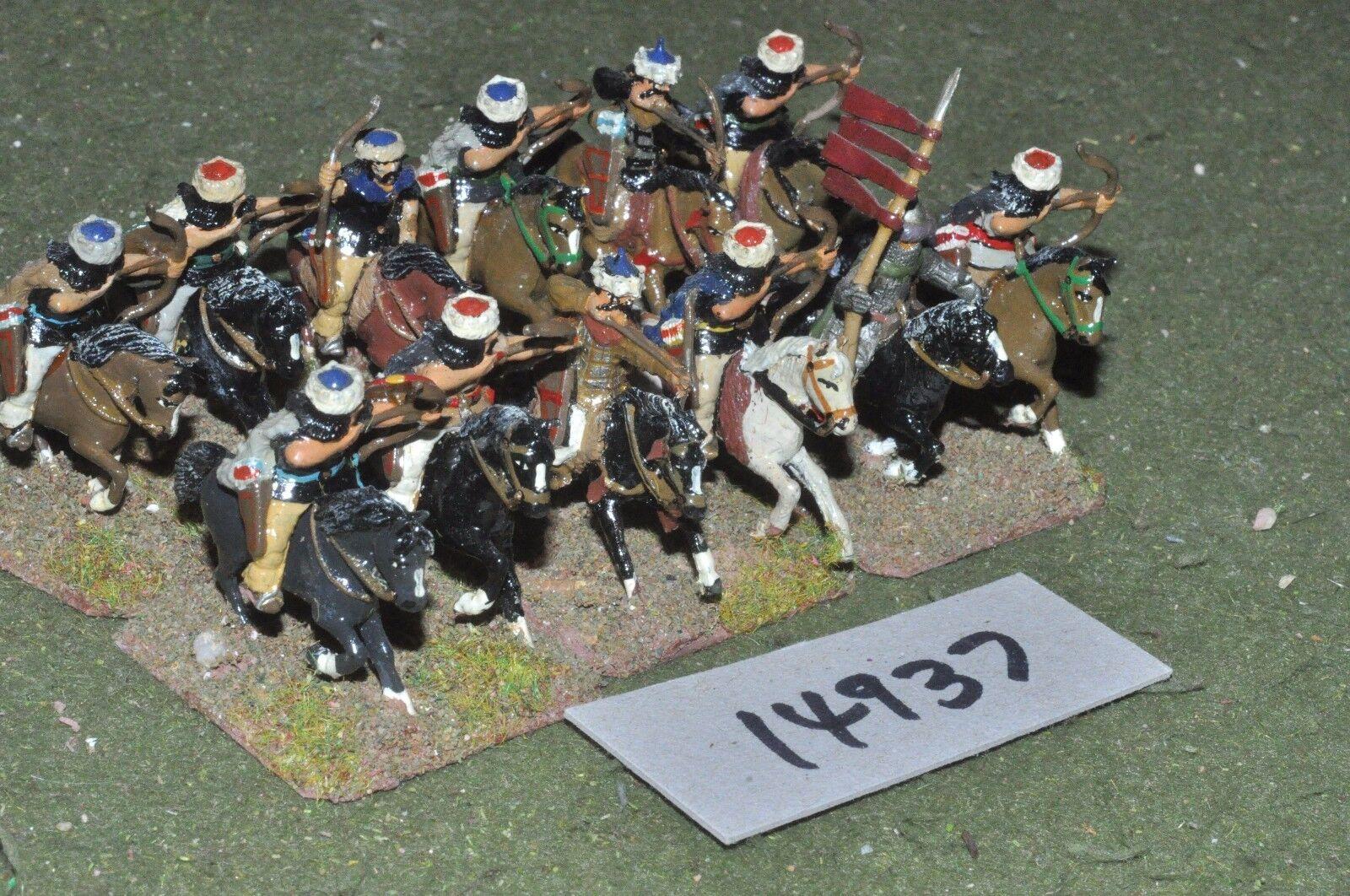 25mm dark ages   hun - cavalry 12 cavalry - cav (14937)