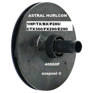 ASTRAL-Hurlcon-1-HP-TX-BX-P280-P320-CTX360-FX290-E290-Pool-Pump-Impeller-40060F
