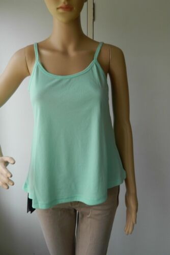 Womens Ladies Plain Printed CAMI SWING VEST Sleeveless Top Strappy Flared