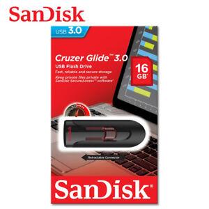 SanDisk-USB-16Go-Cruzer-Glide-Cle-USB-3-0-Lecteurs-USB-Flash-Memoire-Drive-CZ600